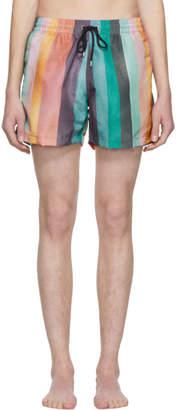 Paul Smith Multicolor Classic Multistripe Swim Shorts