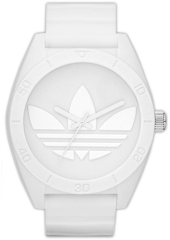 adidas 'Santiago XL' Silicone Strap Watch