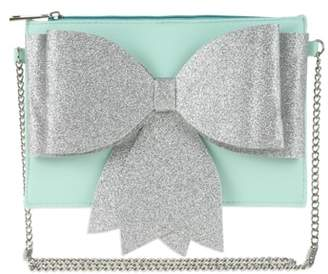 Capelli New York Glitter Bow Crossbody Bag