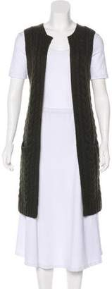 Ralph Lauren Black Label Cashmere Cable Knit Vest