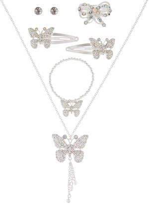 Monsoon Glitzy Butterfly Super Jewellery Set