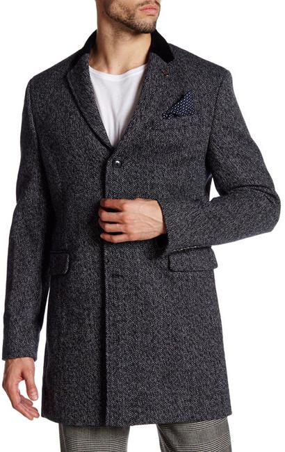 Ben ShermanBen Sherman Covert Wool Coat