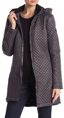 BCBGeneration Missy Mini Quilted Zip Front Jacket