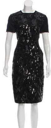 Tory Burch Wool Sequined Dress