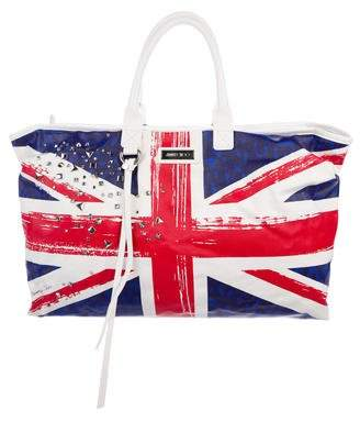 Pre Owned At Therealreal Jimmy Choo Union Jack Tote