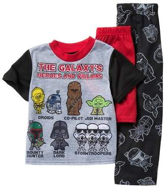 a046e5fecc Star Wars AME Heroes and Villains Pajama 3-Piece Set (Little Boys   Big