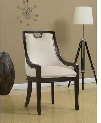 Chic Home June Neo Traditonal Velvet Nailhead Dining Chair