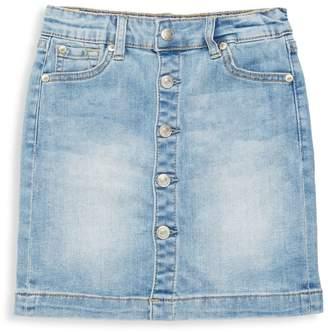 7 For All Mankind Girl's Denim Skirt
