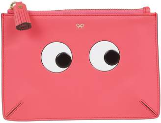 Anya Hindmarch Small Eyes Applique Clutch