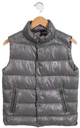 Moncler Boys' Tib Puffer Vest