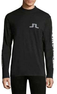 J. Lindeberg Junips Logo Long Sleeve Top