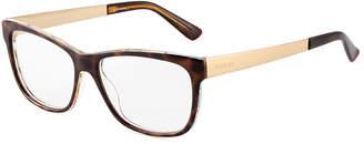 Gucci Square Plastic Optical Glasses