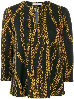 Roseanna chain print blouse