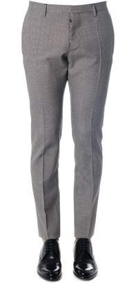 DSQUARED2 Grey Classic Pants In Wool