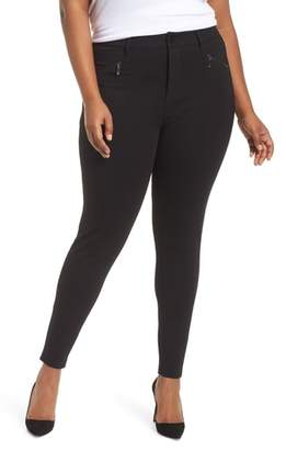 Seven7 High Rise Zip Pocket Ponte Leggings