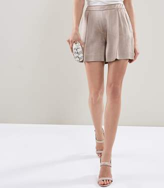 Reiss ARIA SHORT TAILORED SHORTS Silver