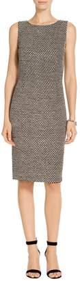 St. John Modern Punto Knit Dress