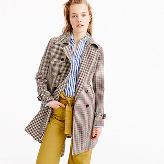 Icon trench coat in plaid Italian wool $350 thestylecure.com