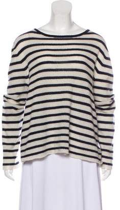 Nili Lotan Striped Knit Sweater