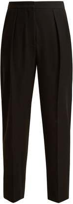 See by Chloe High-rise cropped stretch-twill trousers