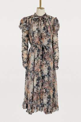 Zimmermann Tempest silk long dress