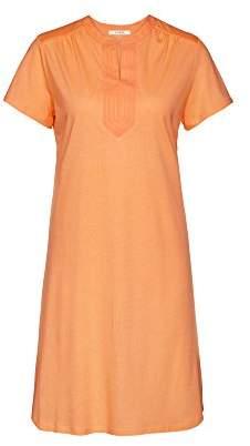 Cyell Women 's Nightdress Seray, Orange (Solids 340)