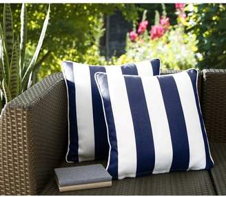 Breakwater Bay Fawcett Water Resistant Stripe Indoor/Outdoor Throw Pillow