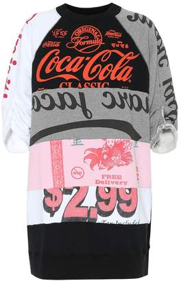 Marc Jacobs Printed cotton-blend dress