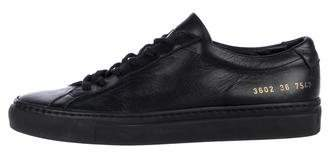 Common Projects Woman by Leather Low-Top Sneakers