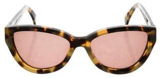 Cat Eye Cutler and Gross Cat-Eye Tortoiseshell Sunglasses