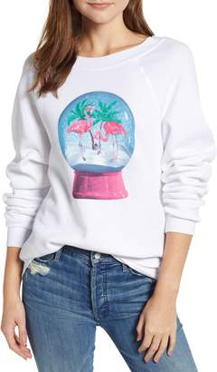 Wildfox Couture Snowy Tropics Sommers Sweatshirt