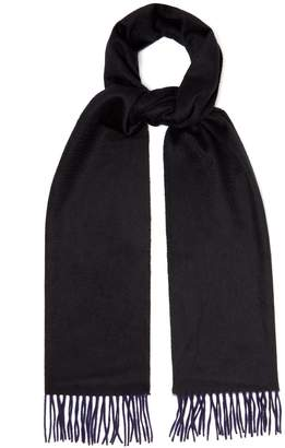 Co BEGG & Arran reversible cashmere scarf