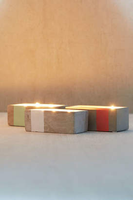 Paddywax Rectangular Concrete Candle