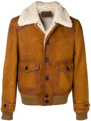 Prada shearling jacket