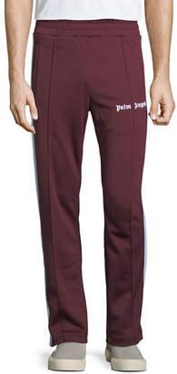 Palm Angels Men's Classic Knit Track Pants