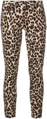 Paige Verdugo leopard skinny jeans