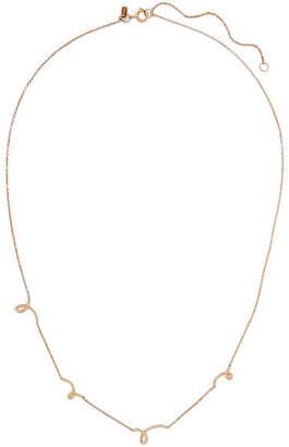 Sebastian SARAH & Gesture 9-karat Gold Necklace