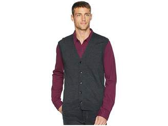 Perry Ellis Cotton Modal Knit Sweater Vest