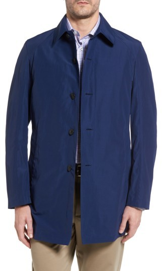 SanyoMen's Sanyo Austin Cotton Blend Raincoat