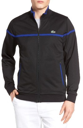Men's Lacoste Striped Track Jacket $145 thestylecure.com