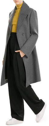 DKNY Coat with Oversized Collar $609 thestylecure.com