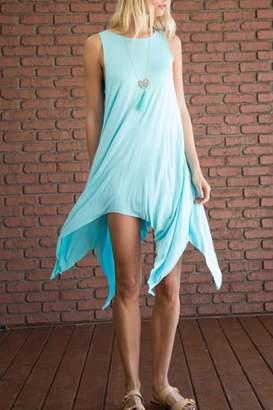Love In Handkerchief Hem Minidress