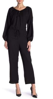 Lucca Couture Crew Neck Solid Jumpsuit