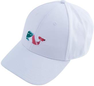 Vineyard Vines Kentucky Derby Roses Whale Fill Baseball Hat