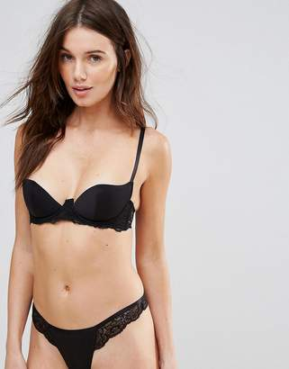 Asos Carly Microfibre Molded Underwire Bra
