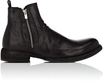 Officine Creative Men's Double-Zip Leather Chelsea Boots