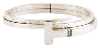 Tiffany & Co. Diamond T Square Wrap Bracelet