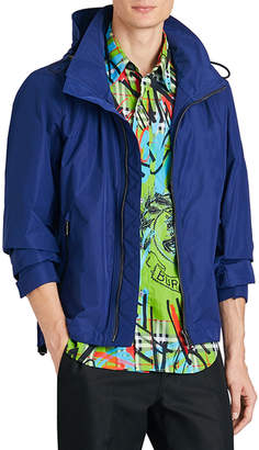 Burberry Men's Hedley Zip-Front Jacket