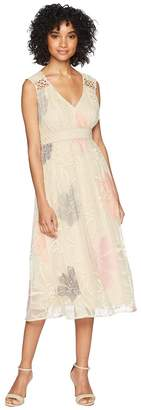 Taylor Embroidered Lace Sleeveless Dress Women's Dress