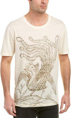 Gucci Paradise Bird Linen T-Shirt